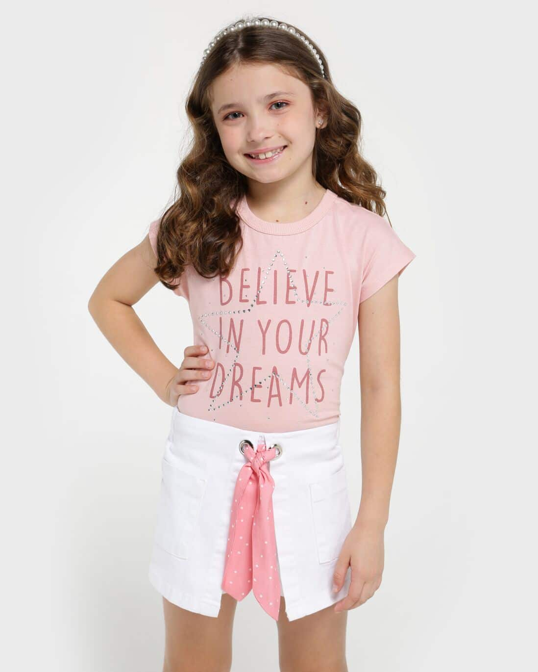 Blusa Believe in Your Dreams - Rosa
