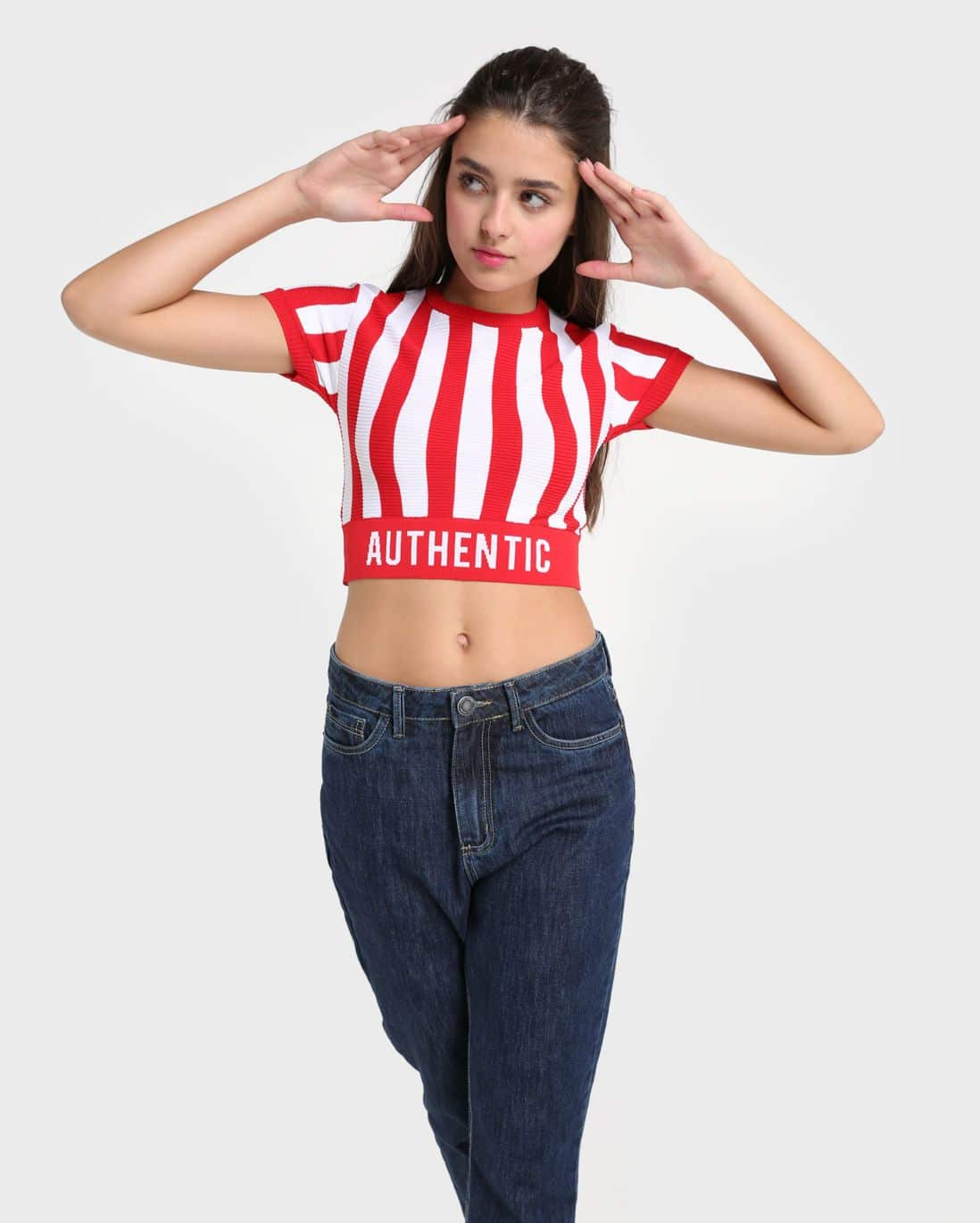 Blusa Cropped Authentic