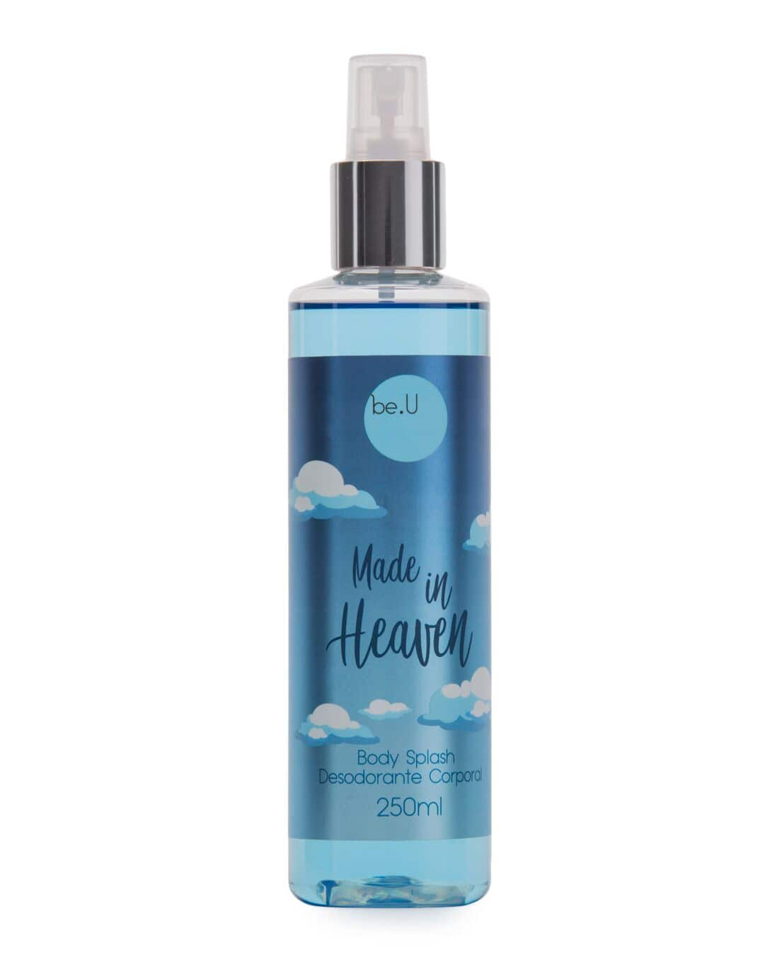 Body Splash Made in Heaven be.U Feminino 250ml