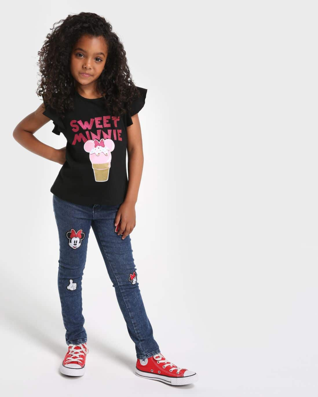 calca jeans minnie disney classicos foto: still