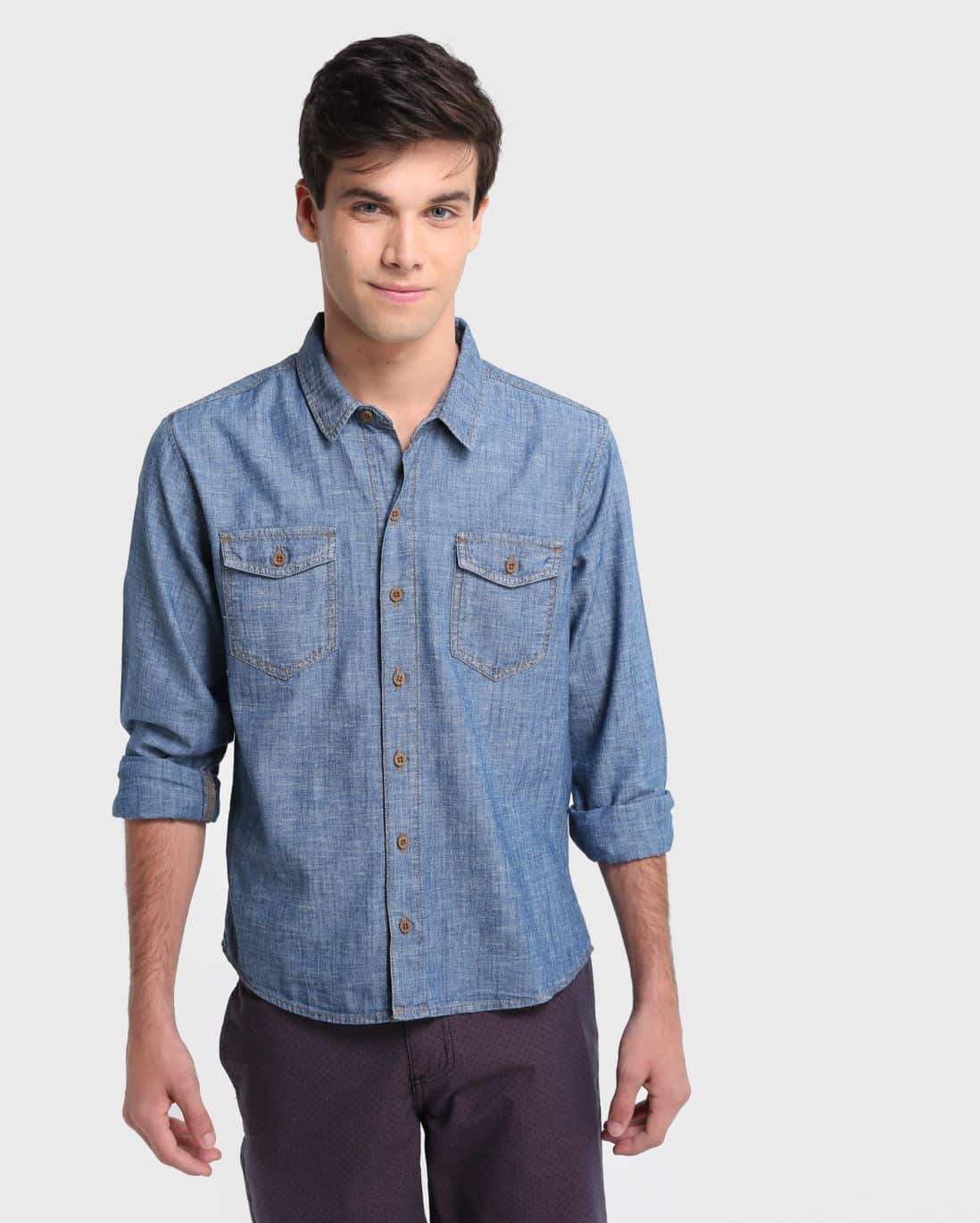 Camisa Jeans Dirty Wash