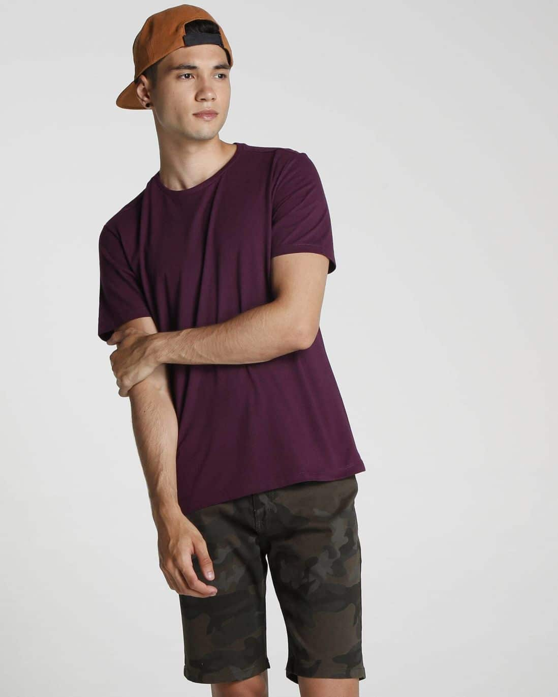 Camiseta Basic Regular - Roxo