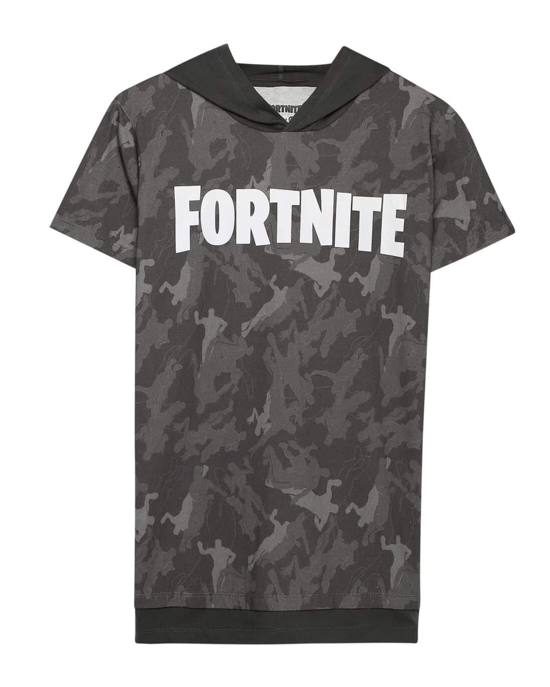 Camiseta Malha Camuflada Fortnite - Multicor