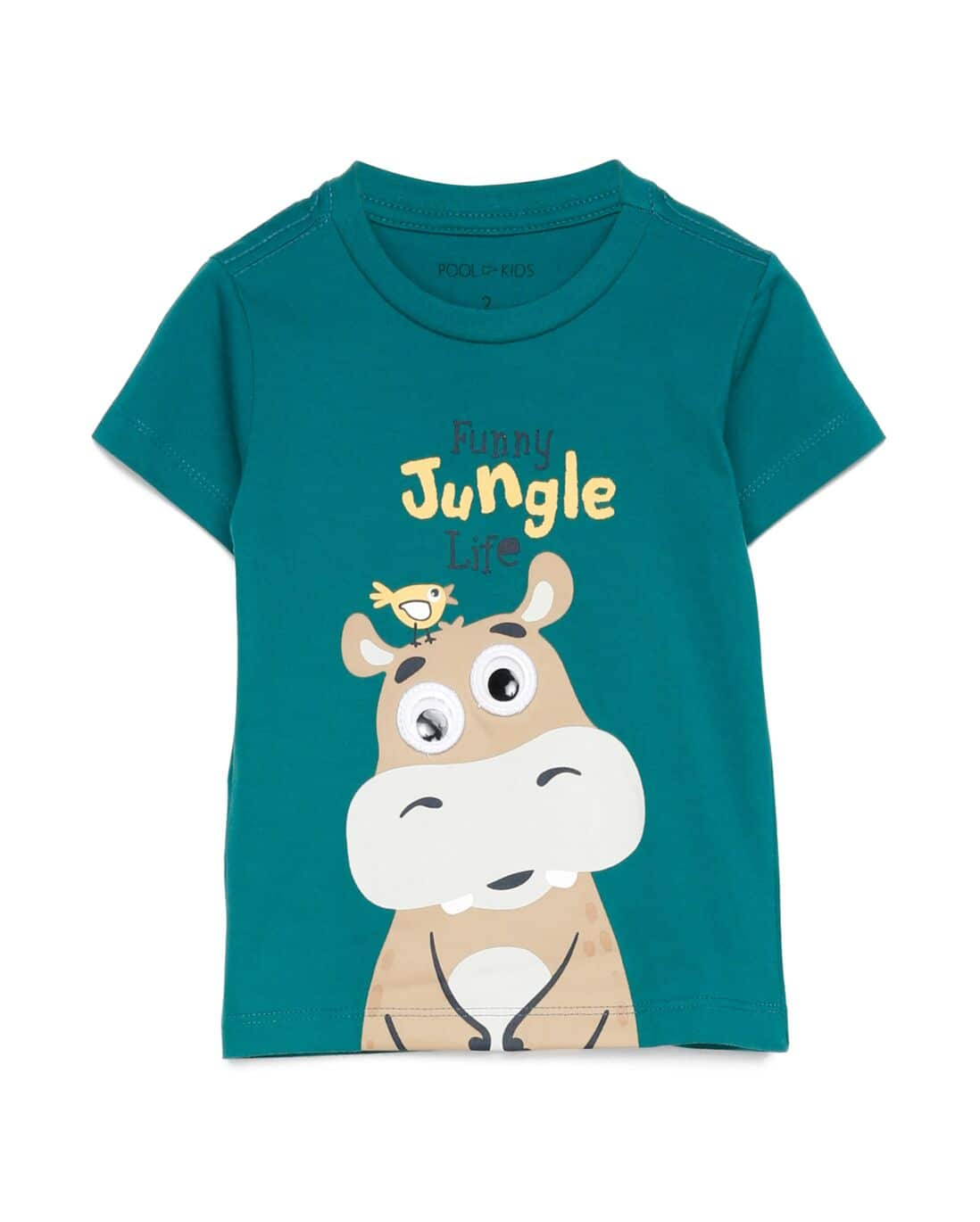 Camiseta Manga Curta Funny Jungle Life - Verde