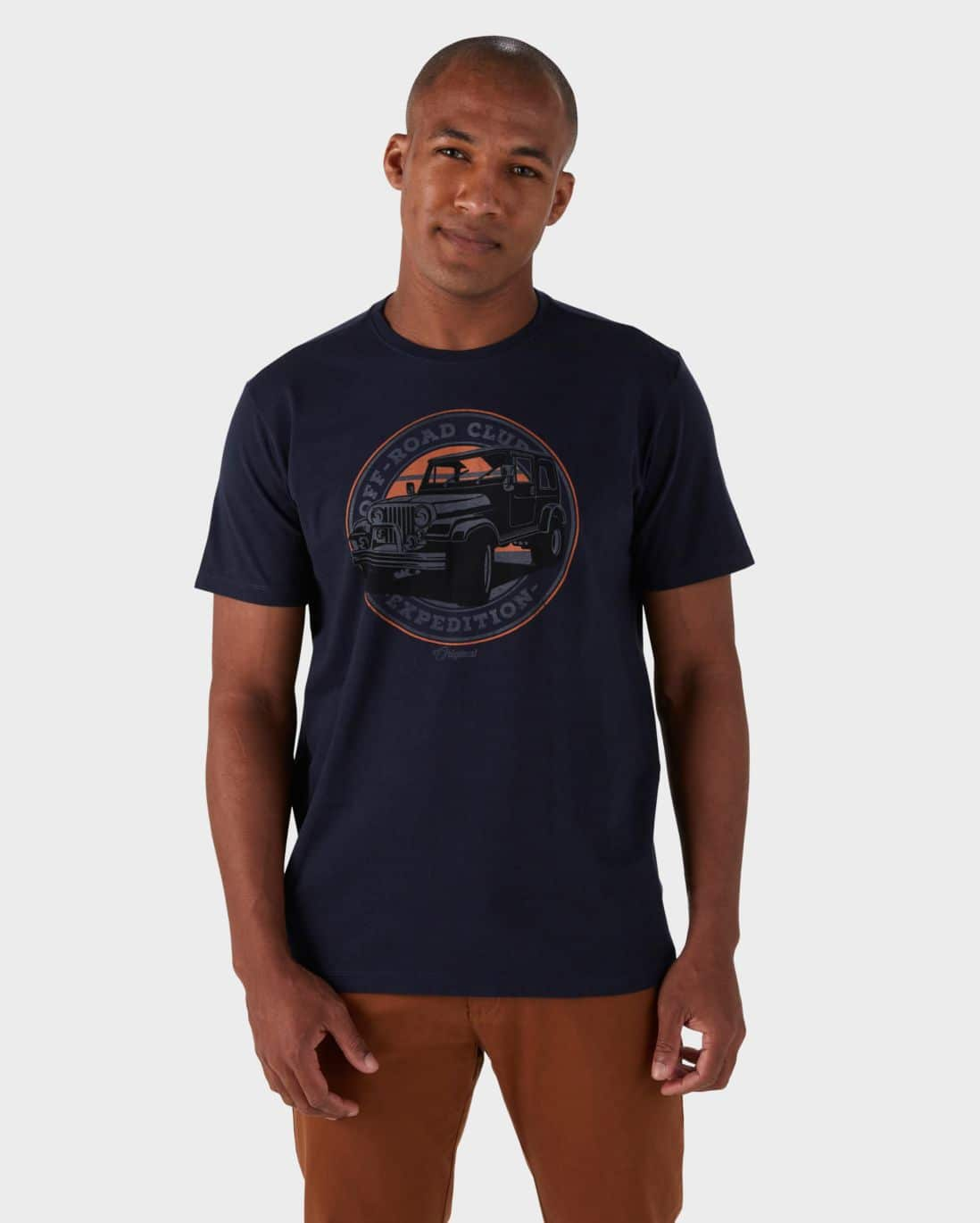 Camiseta Off Road Club - Azul Marinho