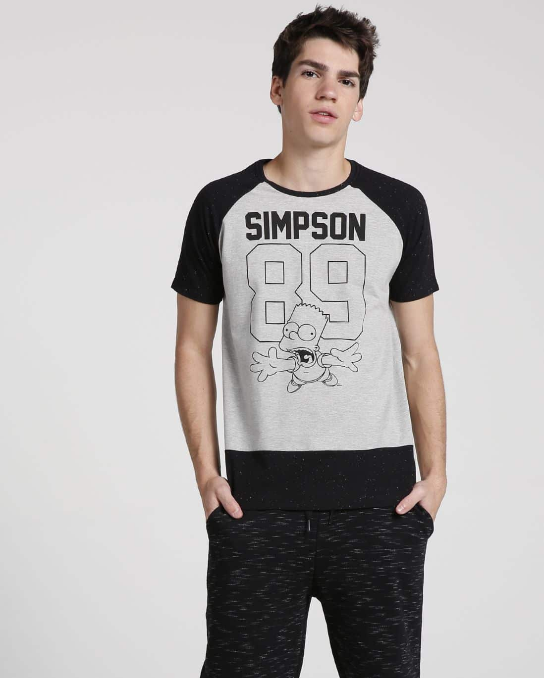 camiseta raglan 89 the simpsons foto: still