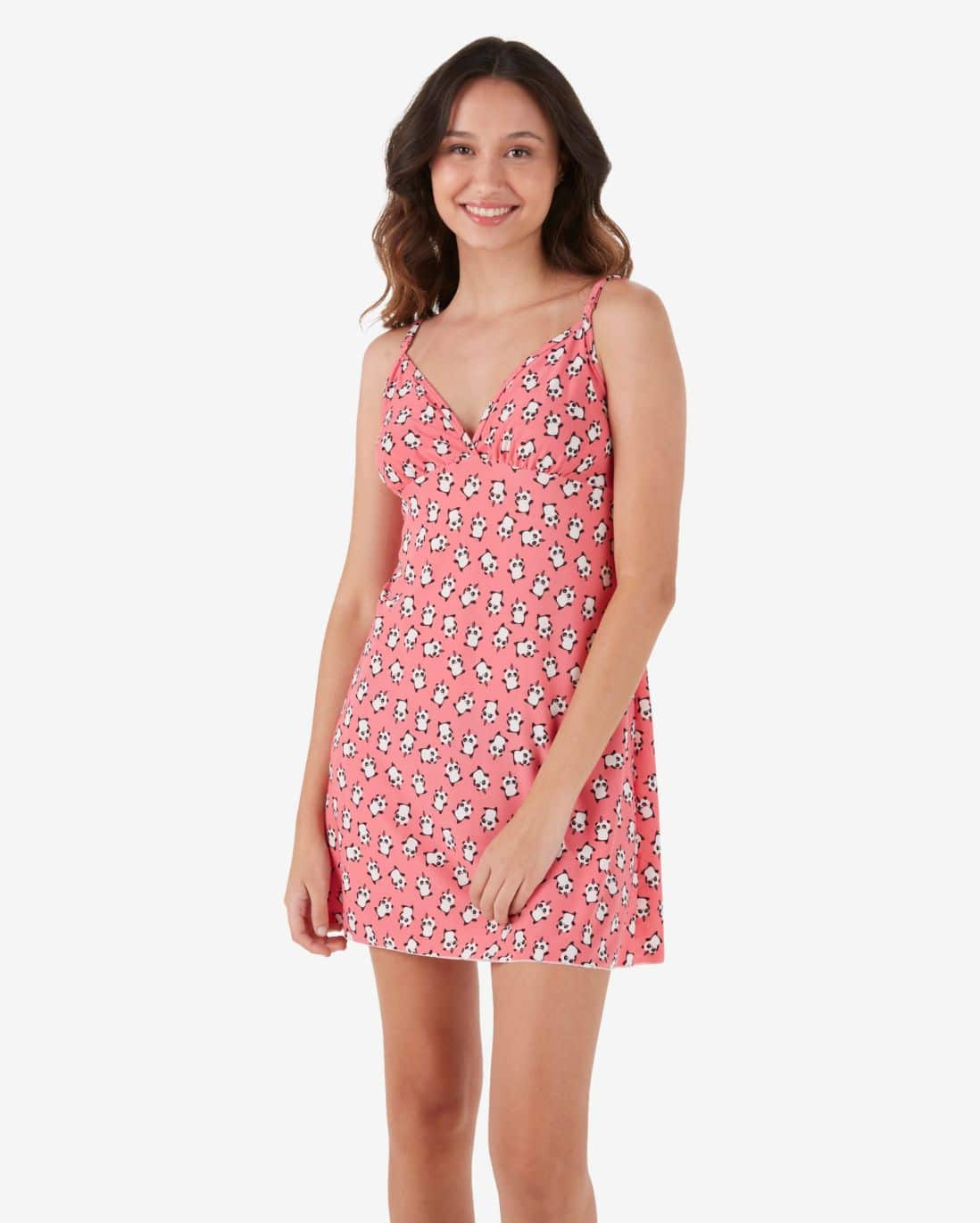 Camisola Liganete Pandacórnio Lilly - Rosa Pink