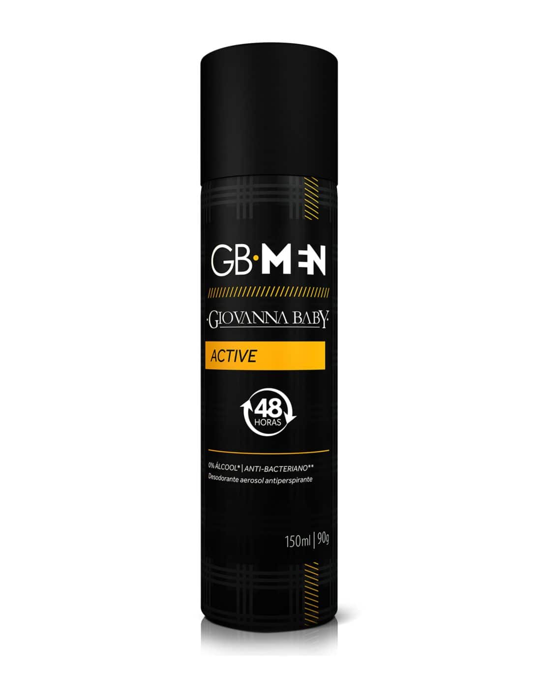 Desodorante Aerossol GB Men Active Giovanna Baby 150ml