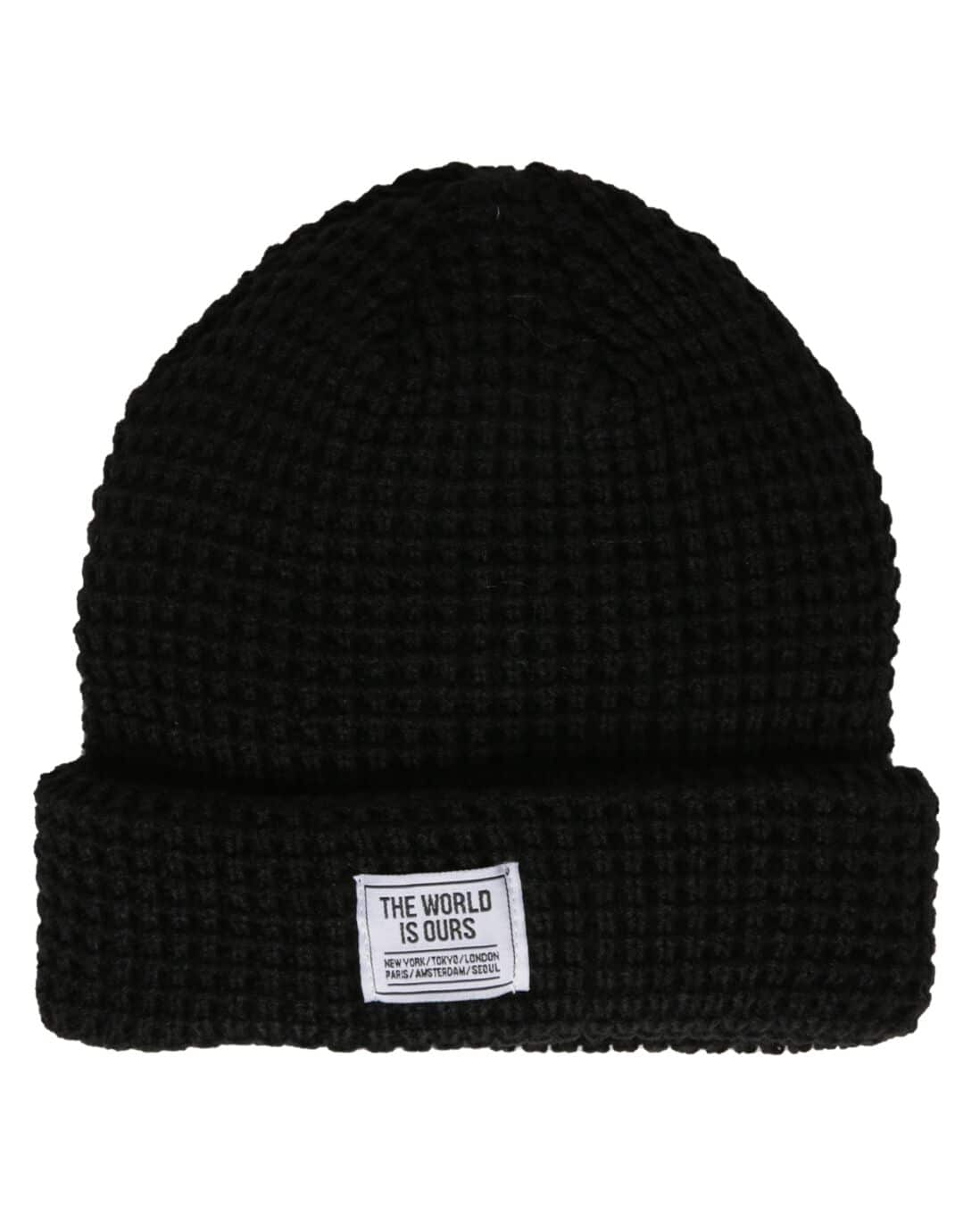Gorro Tricô The World Is Ours