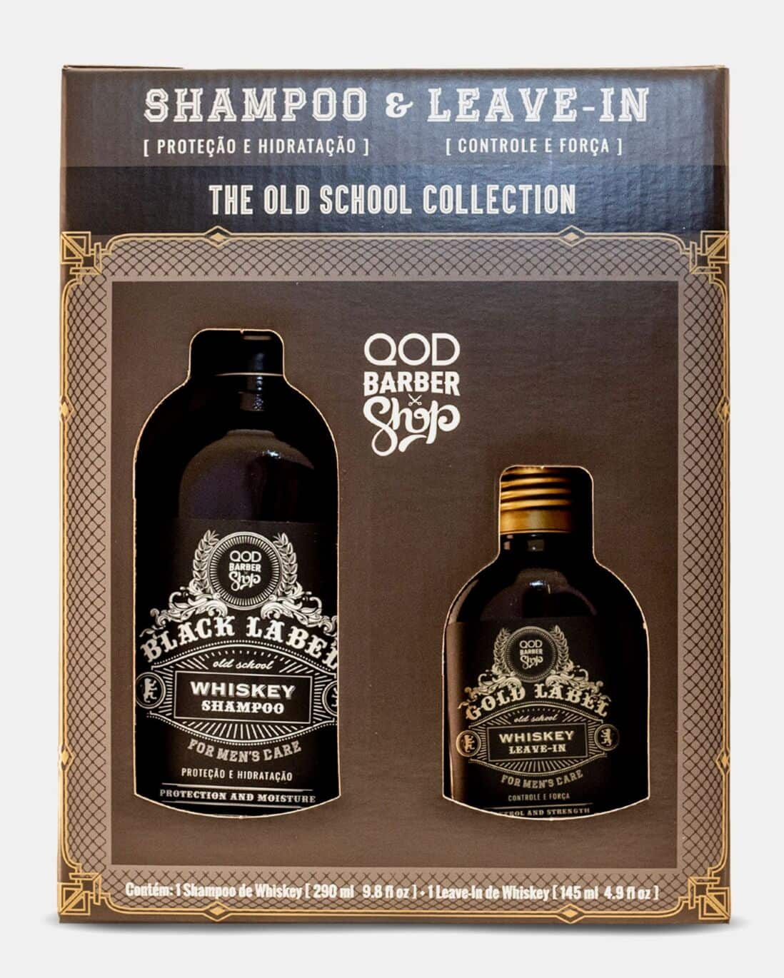 Kit Shampoo + Leave in The Old School Collection QOD Barber Shop
