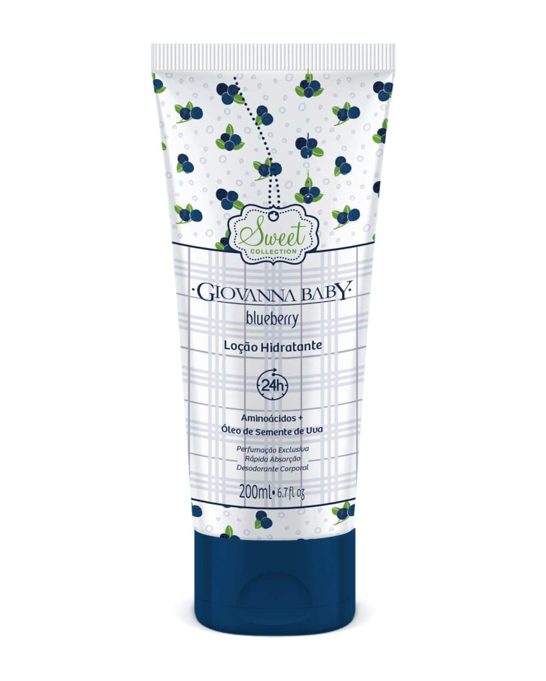 Loção Hidratante GB Blueberry Giovanna Baby 200ml