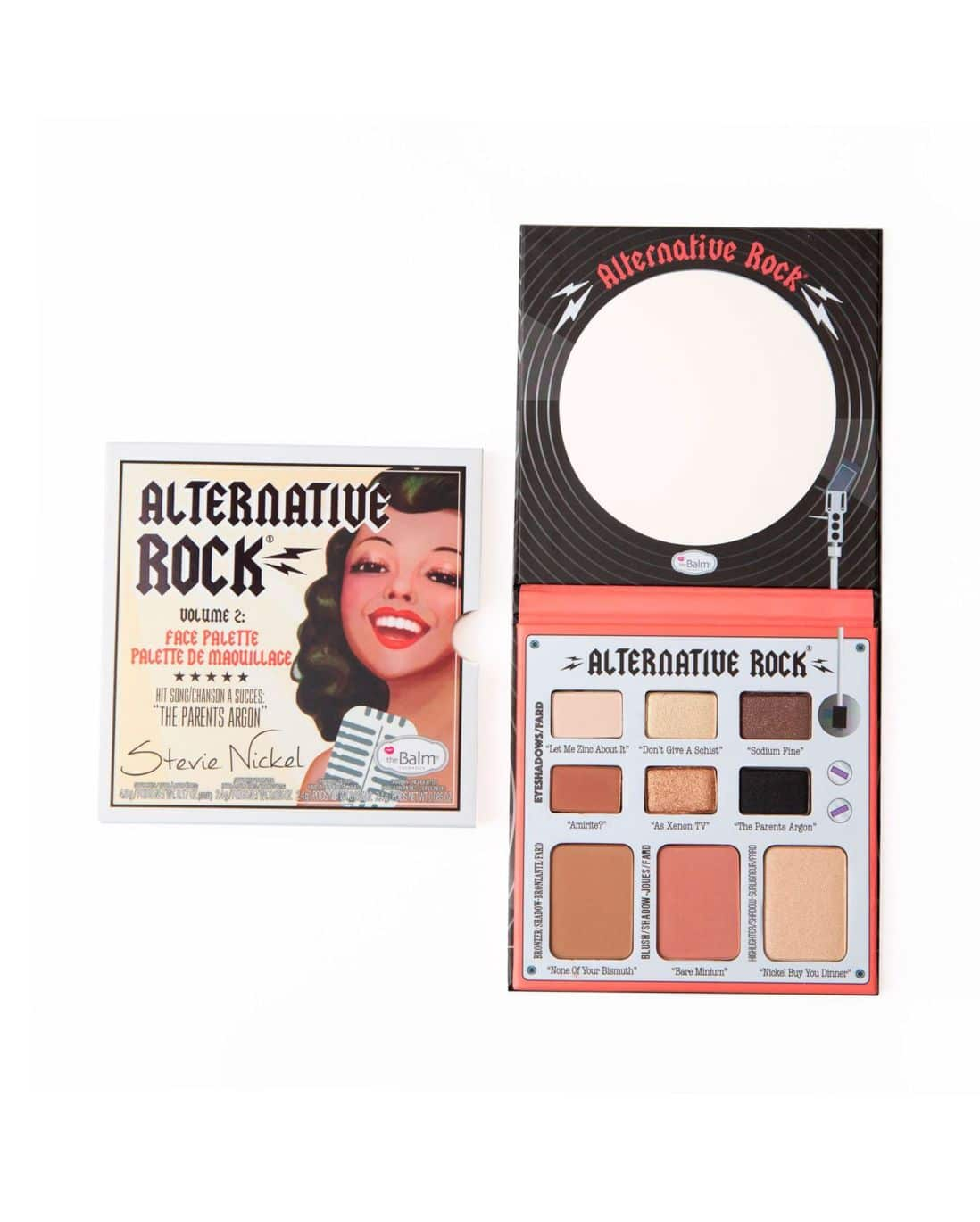 Paleta de Maquiagem Alternative Rock Volume 2 The Balm