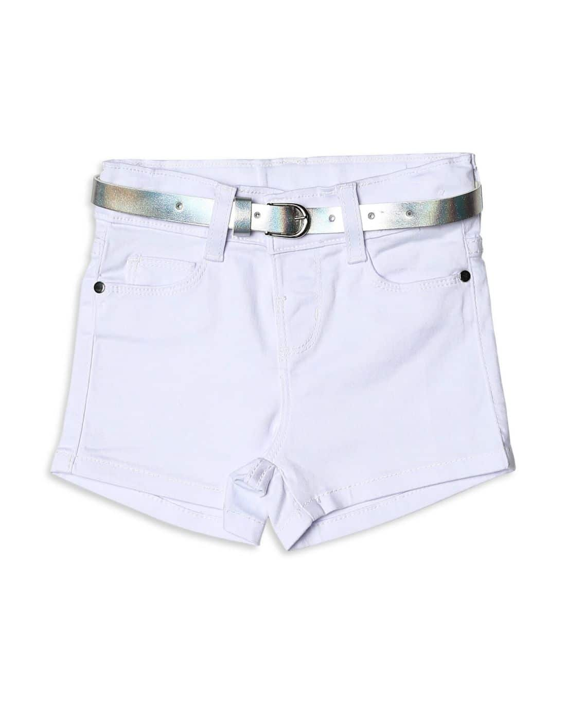 Short Sarja Color - Branco