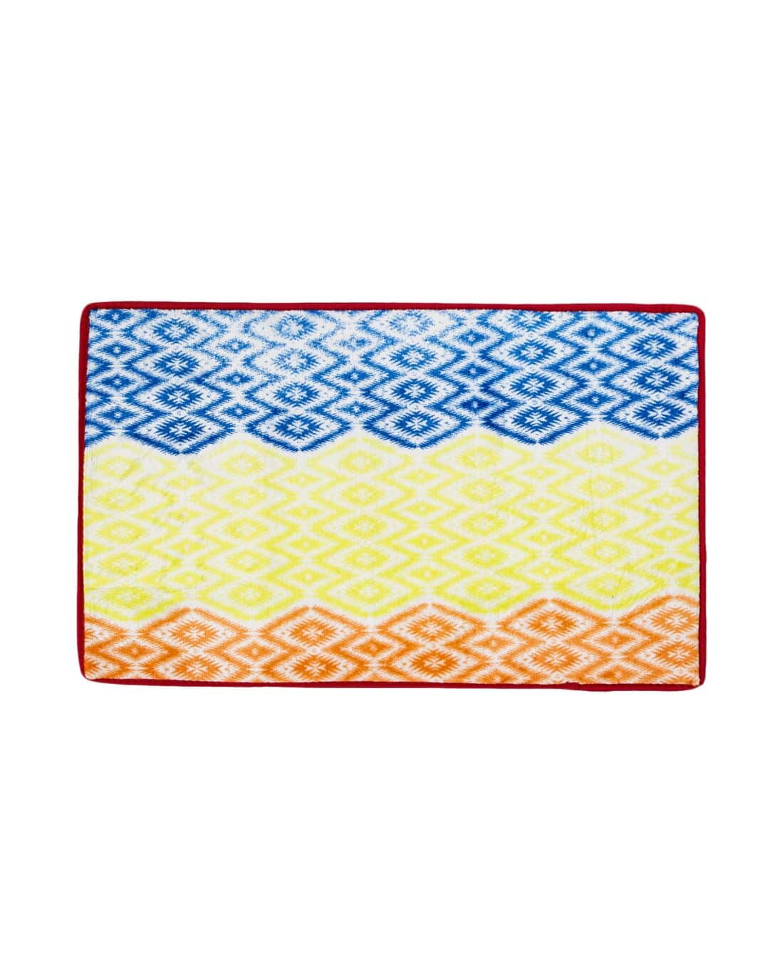Tapete Flannel Touch Rainbow Multicor 50x80cm