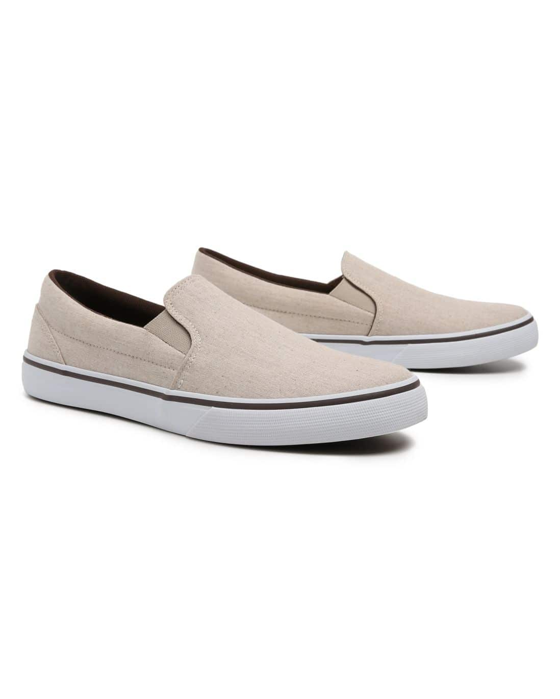 Tênis Slip On RCHLO Man - Bege Claro