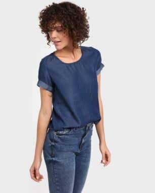 Blusa Jeans Casual