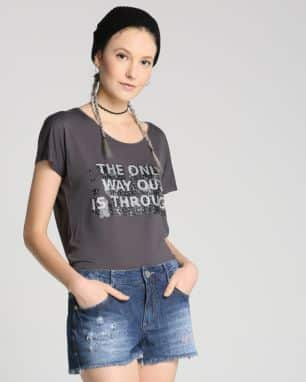 blusa the only  foto: still