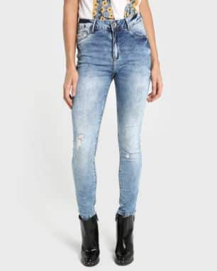 Calça Jeans LYCRA® Pool Up Acid Wash