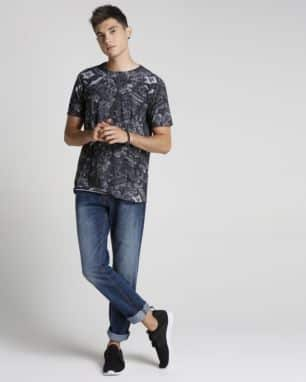 calca jeans simple slim foto: still