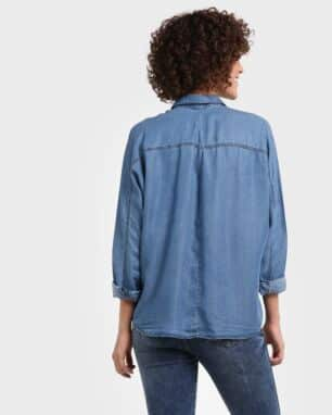 Camisa Jeans Casual
