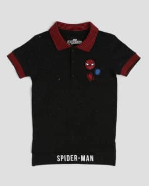 camisa polo spider man foto: still