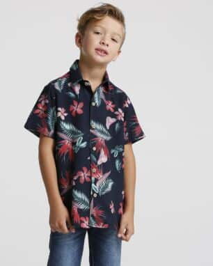 camisa tropical kids foto: still