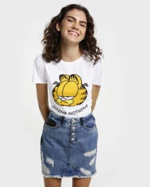 Camiseta Doing Nothing Garfield