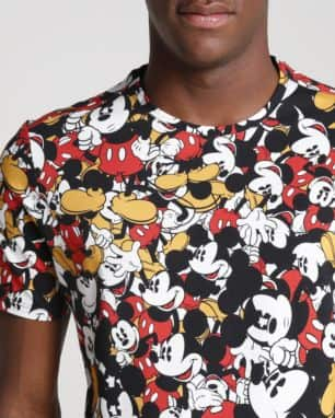 aac883a7c Camiseta Mickey Mouse Disney