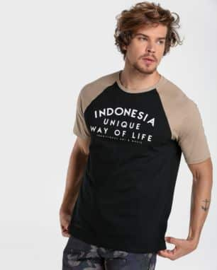 camiseta raglan indonesia foto: still