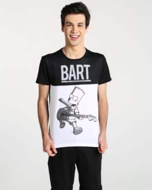 130932bb7 camiseta recorte bart simpson foto  still