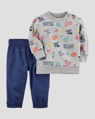conjunto super hero carter s foto: still