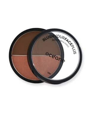 Duo Blush Your Face Plus Brown + Orange Océane