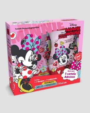 kit shampoo condiconador minnie biotropic  foto: still