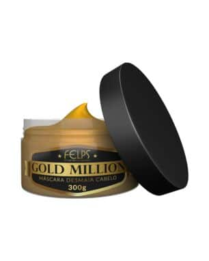 Máscara Desmaia Cabelo Gold Million Felps Professional 300g