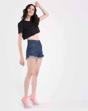 short jeans hot pants amaciado foto: still