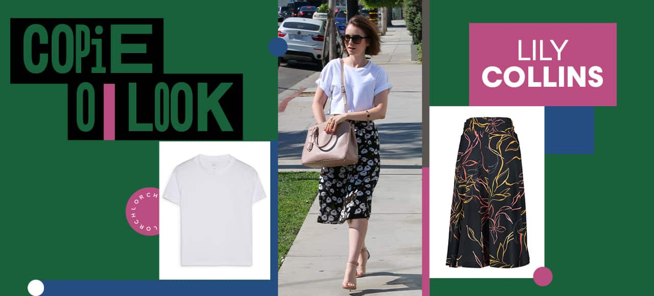 Copie o look: Lily Collins
