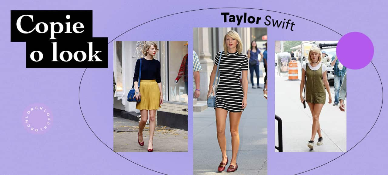 Copie o Look: Taylor Swift