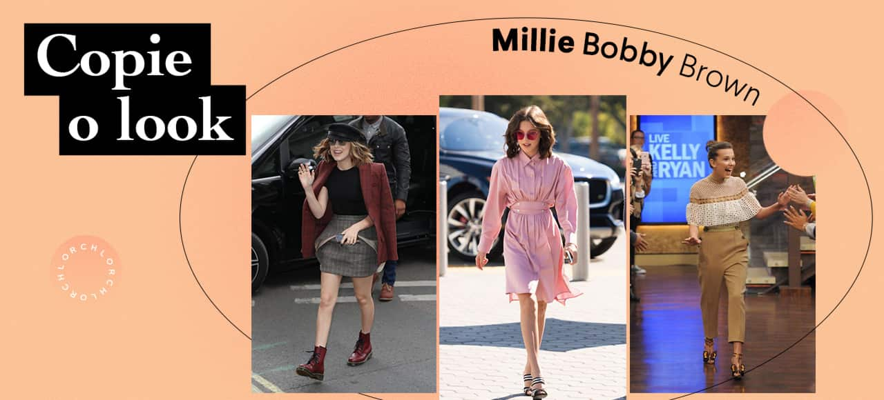 Copie o Look: Millie Bobby Brown