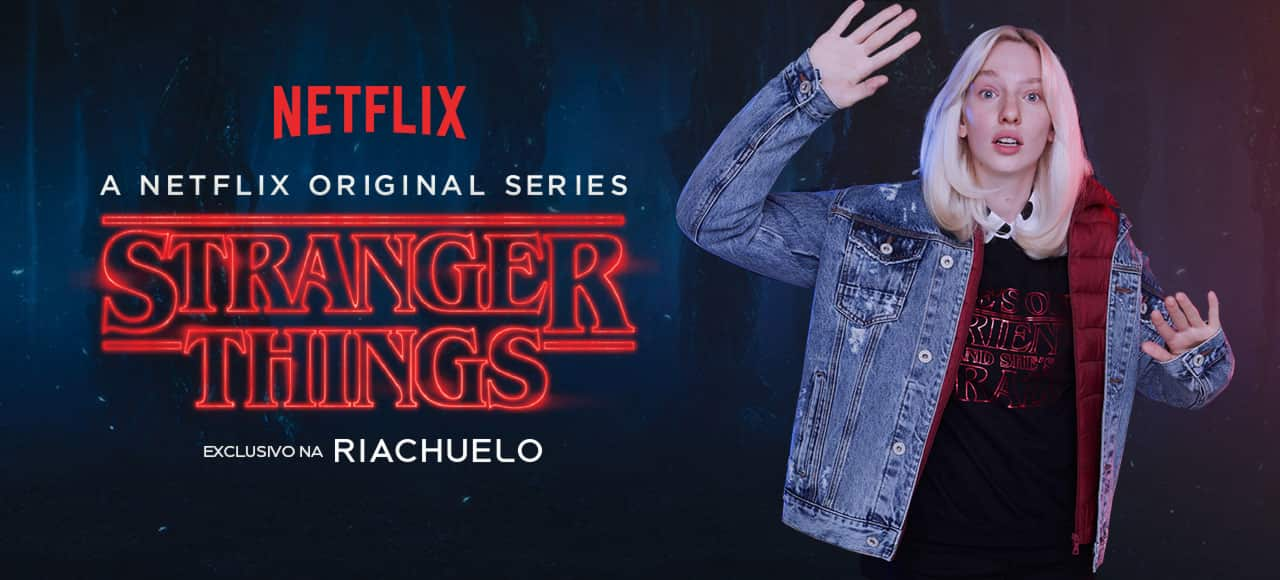 Do Mundo Invertido para o seu look: Stranger Things na Riachuelo!